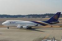 HS-TGA @ RJAA - Thai B747 at Narita