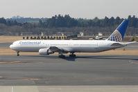 N76064 @ RJAA - Continental B767 at Narita