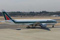 EI-DBL @ RJAA - Alitalia B777 at Narita