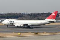 N644NW @ RJAA - NW B747 Freighter at Narita