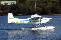 VH-TLO - Cessna A185F in Strahan Harbour , West Tasmania