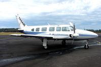 VH-MZI @ YWYY - Piper Pa-31-350 at Burnie, Tasmania