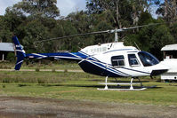 VH-LLA - Bell 206 at Cradle Mountain Helipad , Tasmania