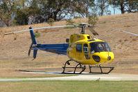 VH-BAA - AS350BA at Hobart Helipad