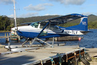 VH-TLV - Cessna A185F based at Strahan , West Tasmania