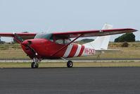 VH-CKZ @ YDPO - Cessna 182E at Devenport, Tasmania