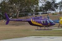 VH-ELF - Robinson R44 at Hobart Helipad