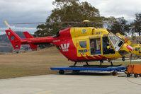 VH-RLI - Police BK117 at Hobart Helipad