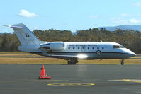 A37-001 @ YMHB - RAAF Challenger at Hobart In