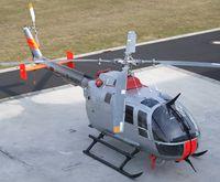 D-HUBE @ EDKB - MBB Bo 105S at Bonn-Hangelar airfield - by Ingo Warnecke