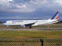 F-HBLF @ EGCC - Air France operated by Regional - by Chris Hall