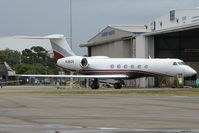 N36GV @ YSSY - Gulfstream on Sydney biz ramp