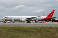 VH-VOZ @ YSSY - New B777 - registered to PelAir but operated by Virgin Blue