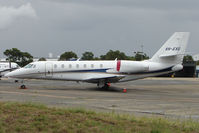 VH-EXG @ YSSY - Cessna 680 Sovereign at Sydney