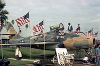52-9060 @ HRL - This Thunderstreak, formerly of the Texas ANG, was on display near the HQ building of the Confederate Air Force in 1978. - by Peter Nicholson