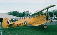 F-AZJR @ LFFQ - Boeing Stearman E 75 at the Meeting Aerien La-Ferte-Alais, Cerny 1997