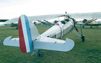 F-BGUV @ LFFQ - Morane Saulnier MS.317 at the Meeting Aerien La-Ferte-Alais, Cerny 1997