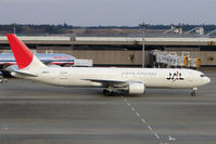 JA601J @ RJAA - JAL B767 at Narita