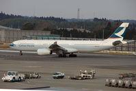 B-HLM @ RJAA - Cathay A330 at Narita - by Terry Fletcher