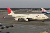 JA8920 @ RJAA - JAL B747 at Narita