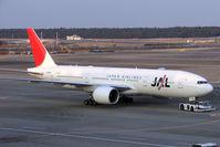JA706J @ RJAA - JAL B777 at Narita