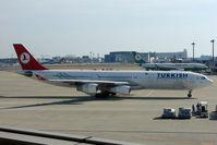TC-JDM @ RJAA - THY A340 at Narita