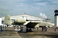 76-0529 @ HRL - Early camouflage colour scheme on this 355 Tactical Fighter Wing A-10A which attended the 1978 Confederate Air Force Airshow. - by Peter Nicholson