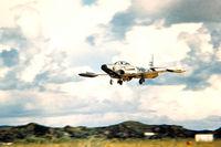 51-5482 @ ROAH - F-94 landing Naha AFB Okinawa - by Zane Adams