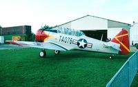 F-AZSC @ LFFQ - North American T-6D Texan at the Meeting Aerien La-Ferte-Alais, Cerny 1997