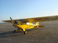 CS-ABW @ LPAV - Piper Cub From ACCV at S.jacinto, airbase Aveiro Portugal - by ze_mikex