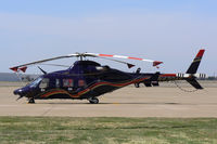 N430AP @ AFW - Bell Helicopter ramp at Alliance, Fort Worth