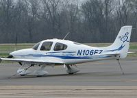 N106EZ @ DTN - Parked at the Shreveport Downtown airport. - by paulp