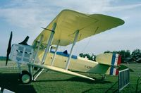 F-AZBP @ LFFQ - Breguet Br.XIV replica at the Meeting Aerien La-Ferte-Alais, Cerny 1997