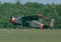 F-GGKH @ LFFQ - Max Holste MH.1521 Broussard at the Meeting Aerien La-Ferte-Alais, Cerny 1997