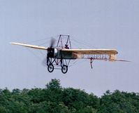 F-AZPG @ LFFQ - Bleriot XI-2 at the Meeting Aerien La-Ferte-Alais, Cerny 1997