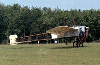F-AZPG @ LFFQ - Bleriot XI-2 at the Meeting Aerien La-Ferte-Alais, Cerny 1997 - by Ingo Warnecke