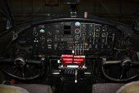 N5017N @ OSH - Cockpit of Lockheed built Boeing B-17G, c/n: 44-85740 - by Timothy Aanerud