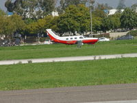 N61FL @ POC - Taxiing for take off on North Taxiway - by Helicopterfriend