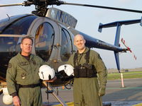 N108PP @ POC - Pomona Police Flight Crew, Sr Pilot Bass, Tactical Flight Officer Cooper - by Helicopterfriend