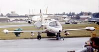N80SM @ EGLF - Gates Learjet PC-35A at Farnborough International 1980