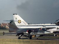 D-6697 - Royal Netherlands Air Force Starfighter at the 1974 RAF Finningley Airshow. - by Peter Nicholson