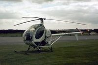 G-BBIU @ BINBROOK - This helicopter operated at the 1978 RAF Binbrook Airshow. - by Peter Nicholson