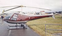 G-BIBJ @ EGLF - Enstrom 280C at Farnborough International 1980