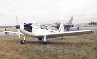 G-ARWB @ EGLF - DeHavilland Canada DHC-1 Chipmunk at Farnborough International 1980