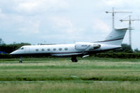 N212K @ EHAM - There are not too many Bizjets at Schiphol. This Gulfstream was a rare example. - by Joop de Groot