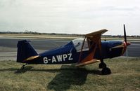 G-AWPZ @ BLK - A rare sight at the time of the 1978 Blackpool Airshow. - by Peter Nicholson