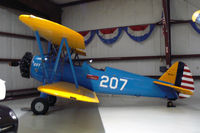 N1207 @ ADS - At the Cavanaugh Flight Museum - by Zane Adams