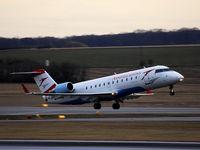OE-LCP @ VIE - CRJ taking off RW 34 - by Patrick Radosta