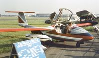 I-GIAC @ EGLF - Caproni-Vizzola C-22J at Farnborough International 1982