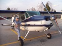 N5481C @ 9I3 - New Owner Josh Smith - by Kevin Mays